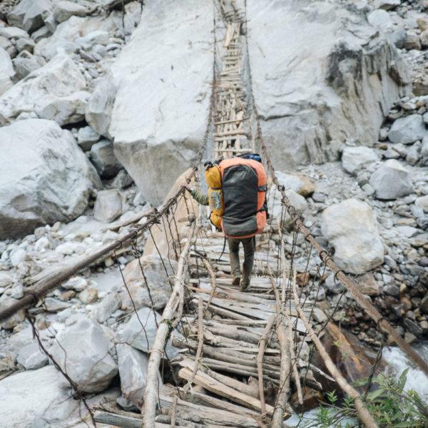 Nepal_Gimmigela East Northface ©Elias Holzkecht